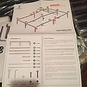 Amazon.com: Zinus plataforma de metal de 16 pulgadas con ...