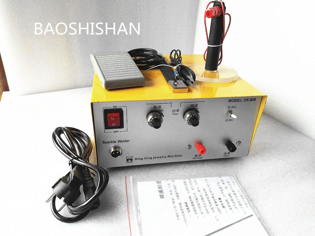 BAOSHISHAN 110V/220V 2in1 80A 500Wパルススポット溶接機 ハンドヘルドパルス 金銀プラチナ溶接マシン リングウェルダー 超強力型 ジュエリーツール (110V) 110V   B07BMNRXN5