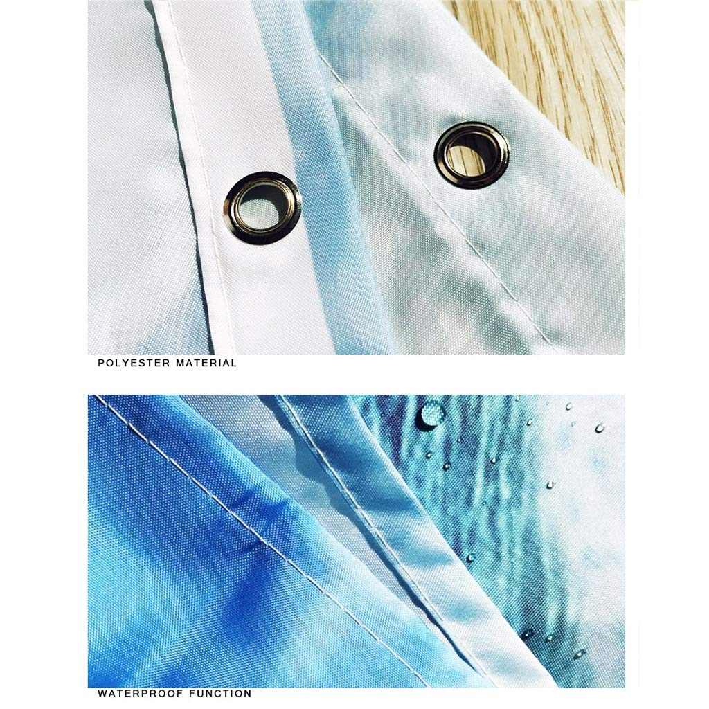 CYHY 4-teiliges 4-teiliges 4-teiliges Badezimmer-Set, WC-Deckel Abdeckung Sockel WC-Badezimmer Rutschfeste Teppich Teppich und wasserdichter Duschvorhang mit 12 Haken (Farbe   2, Größe   19.7  x 31.5) B07QHJ7B3T Duschmatten 43ffaa
