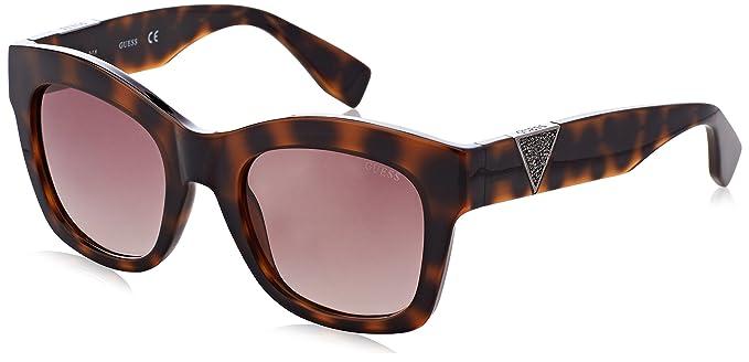 GUESS GU7454, Gafas de Sol para Mujer, (Marrone), 51