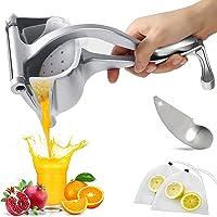 UNANIC Handleiding Citrus Juicer Hand Press Fruit Juicer voor Citroen Lime Oranje Zware Aluminium Sap Extractor Citroen…