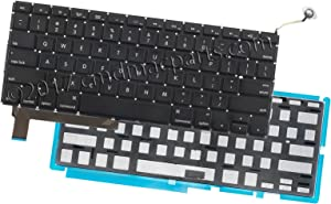 "Odyson - Backlit Keyboard Kit (US English) Replacement for MacBook Pro 15"" Unibody A1286 (Mid 2009-Mid 2012)"