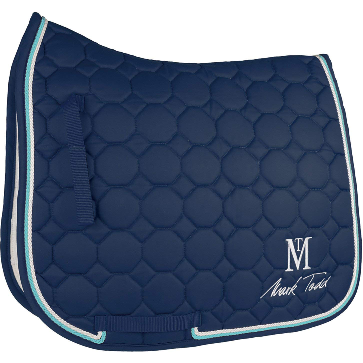 Mark Todd Matrix Quilted Saddle Pad Full Size Navy