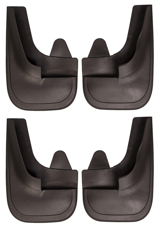 4 universale Fit nero Parafanghi anteriore e posteriore 4 x 4/Van completo con viti di montaggio –  Easy Fit gomma parafanghi/guardie Auto Choice