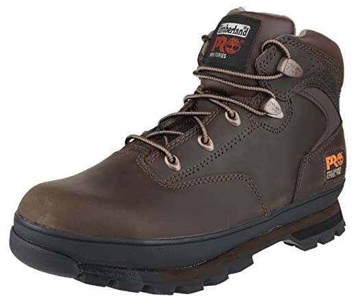 Timberland Mens Euro Hiker Brown Lace Up Leather Safety Ankle Boot: Amazon.es: Bricolaje y herramientas