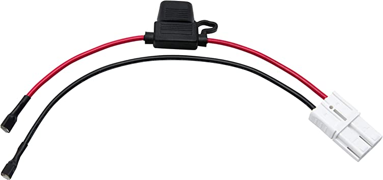 Amazon.com: X PWR 12 Volt Battery Wiring Harness for 12V Rollplay Child  Ride On Car Chevy Colorado GMC Sierra Mercedes Coupe White Plug: AutomotiveAmazon.com