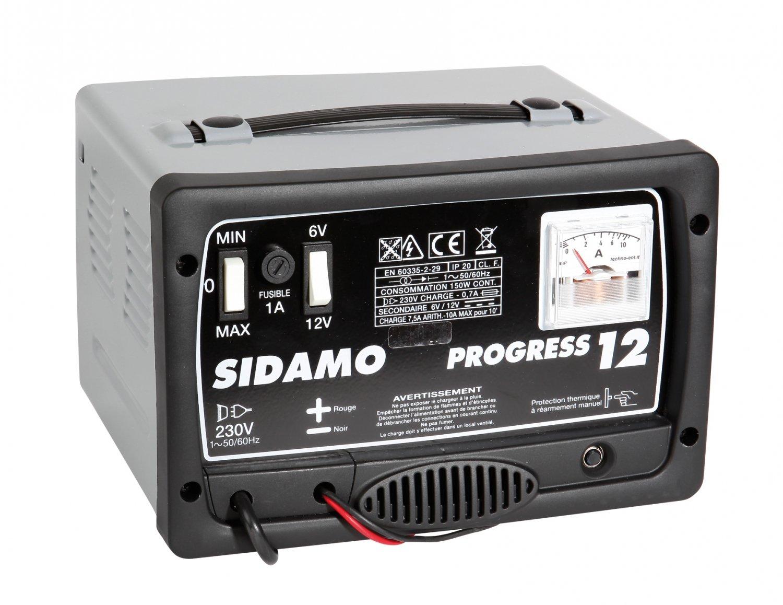 Akku-Ladegerät Progress 12selbstregulierend Sidamo
