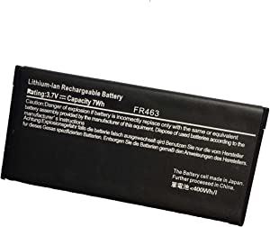 Ammibattery Replacement Battery For Dell Poweredge Perc 5i 6i FR463 P9110 NU209 U8735 XJ547 Dell PowerEdge PERC5I PERC6I TR321 312-0448 FR463 3.7V 7Wh