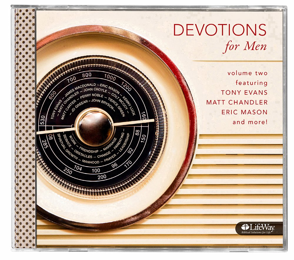 Devotions for Men Audio CD Volume 2