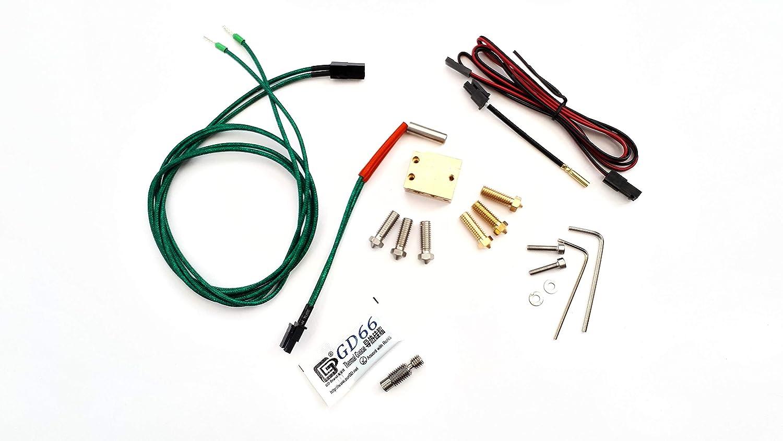 High Speed kit de mise /à niveau pour impression 3d Grand format sur E3D /& Compatible 12/V V6/Hot Extr/émit/és Y Compris Prusa i3/RepRap