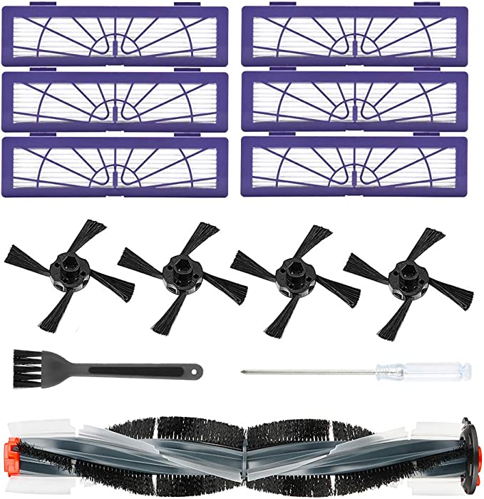 Main Brush Filters Set Fit For Neato Botvac D Series Vacuum Cleaners Spare Parts