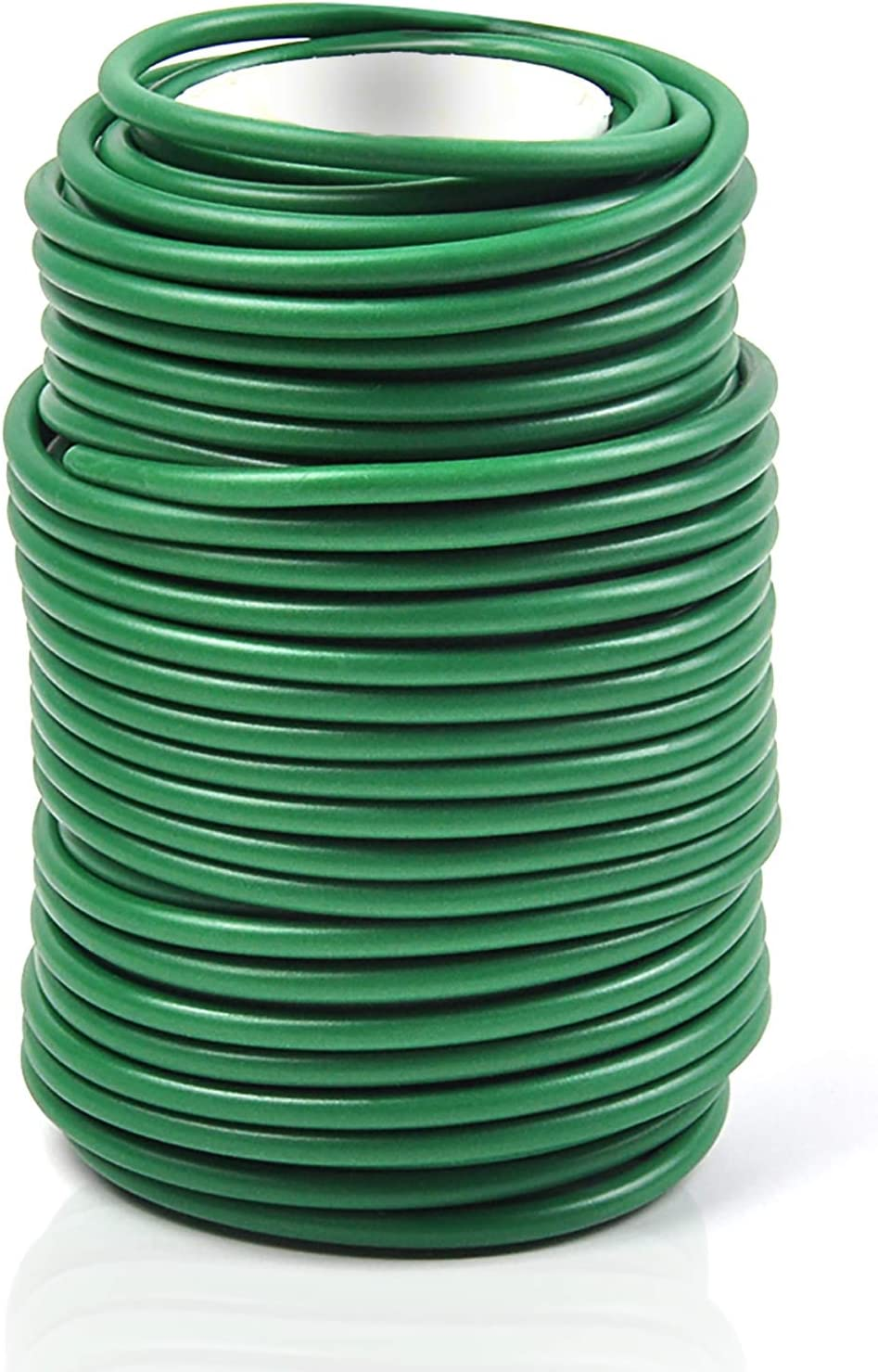 Decoroca Garden Flexible Tie, Tie Soft Twist Plant Ties 65.6' - Green Support Plant Vines, Stems & Stalks