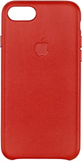custodia iphone 7 pelle rossa