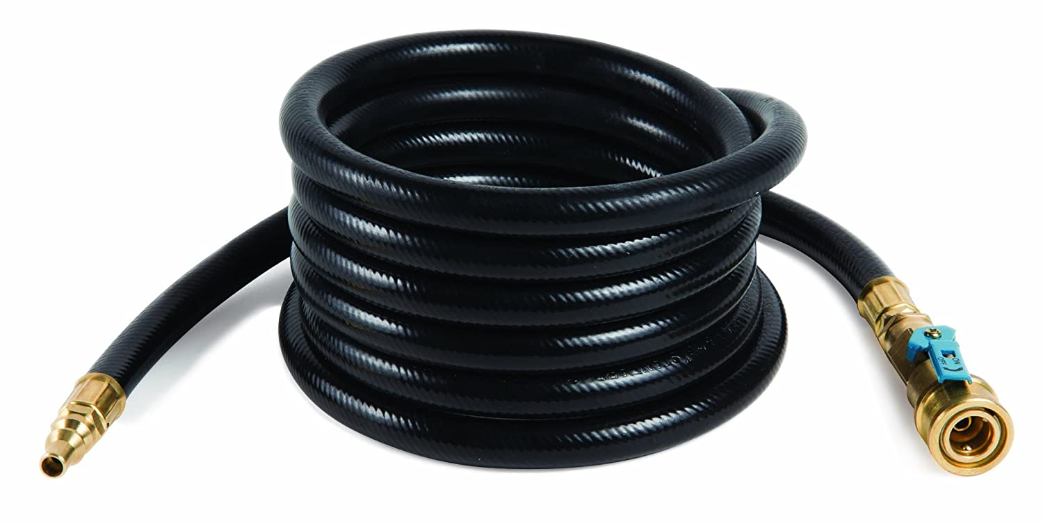 Camco 10ft Heavy Duty Quick Connect Rv Propane Hose Wiring Diagram For Connects Supply With Olympian 5100 5500 And Other Low Pressure Grills 57282