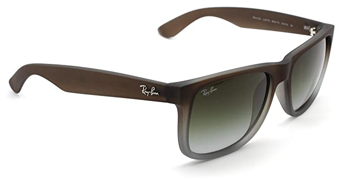 012c5b04297 Image Unavailable. Image not available for. Color  Ray-Ban RB4165 Justin  Classic Unisex Gradient ...