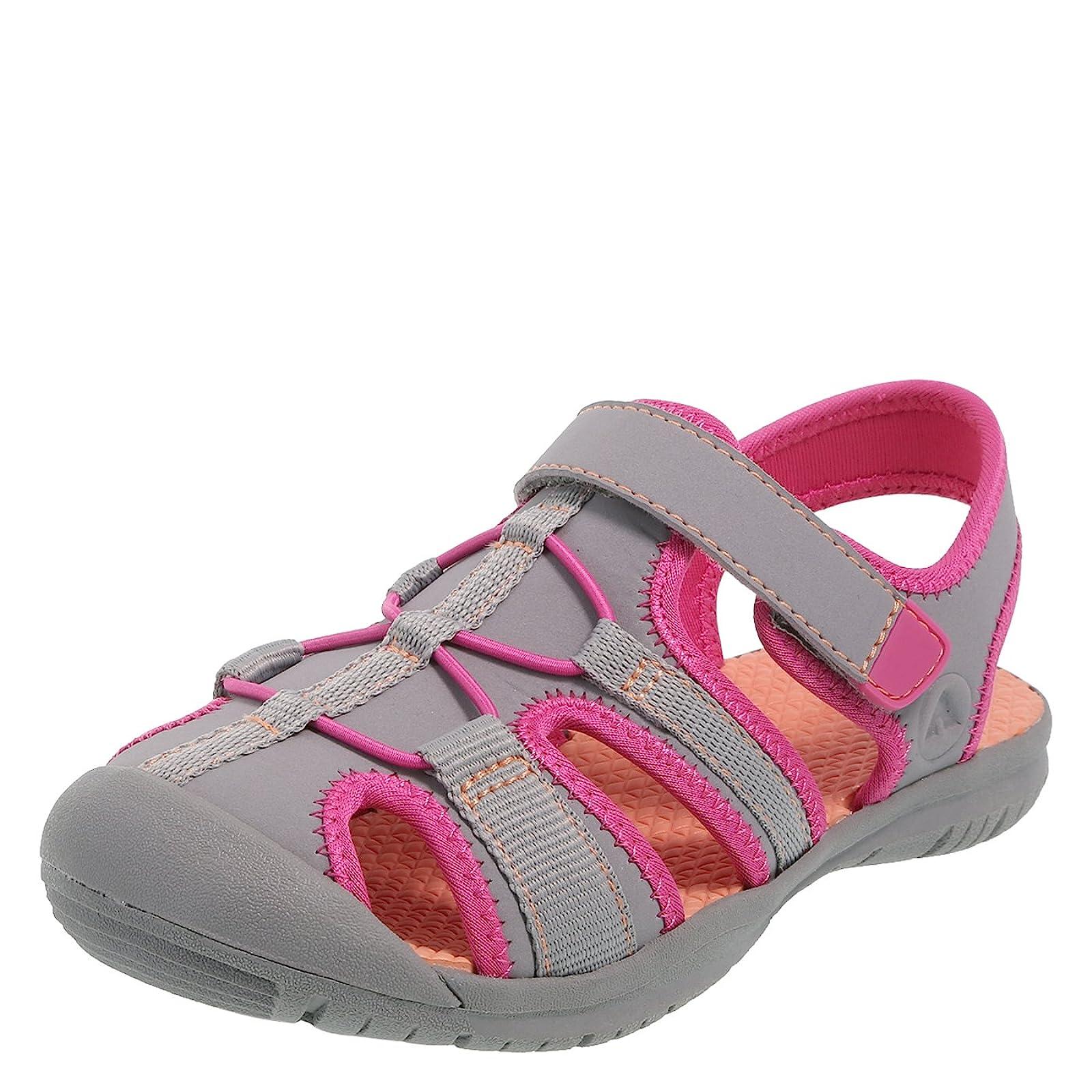 Rugged Outback Grey Pink Girls' Marina Bumptoe 175191040 - 4