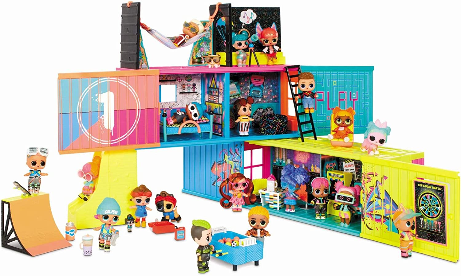 L.O.L. Surprise! Clubhouse Playset – With 40+ Surprises 33% OFF £36.95 @ Amazon