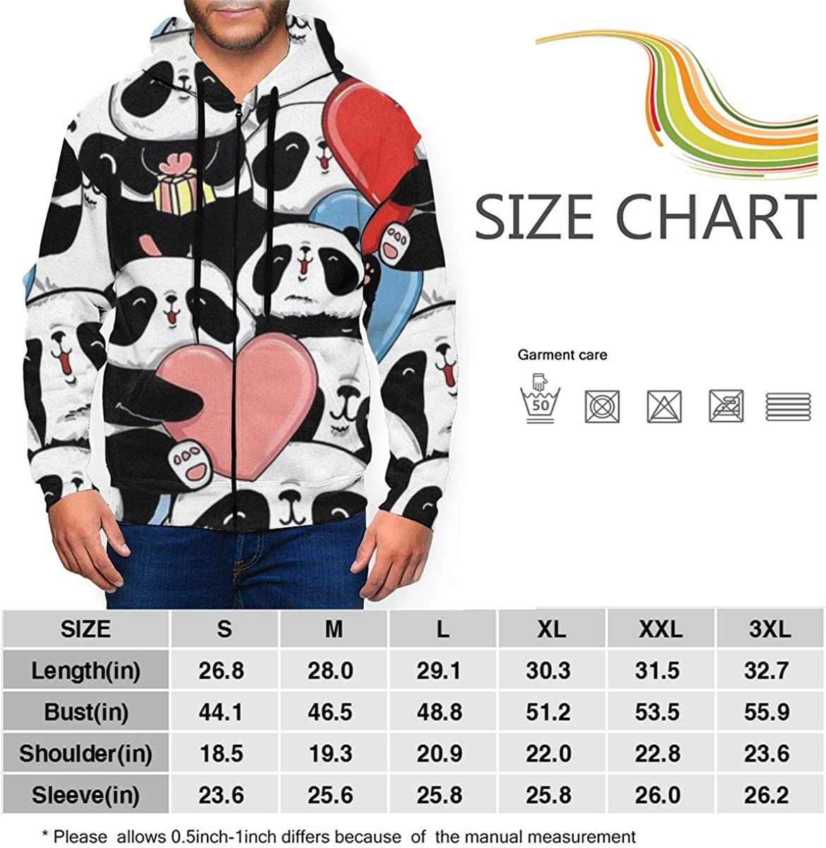Autumn and Winter Sweater Mens Hoodie Jacket Youth Zipper Cardigan for Man