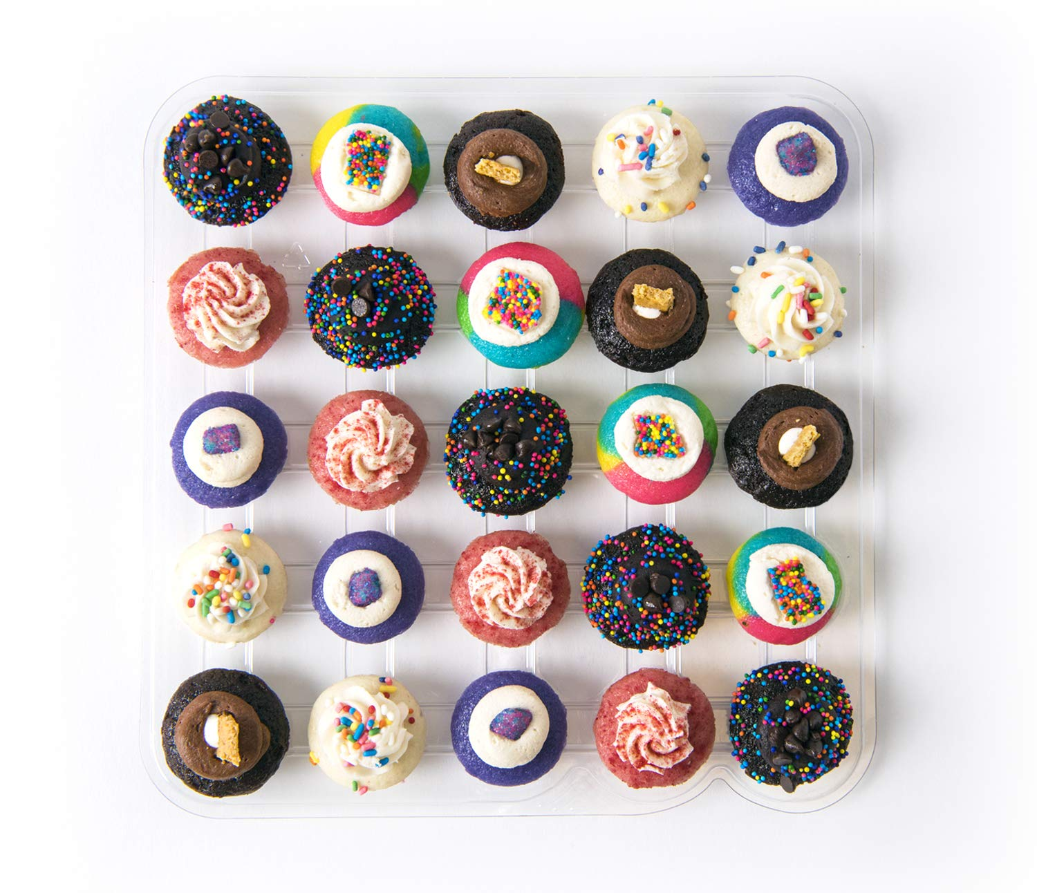 Baked by Melissa Current Cravings Assortment - Assorted Bite-Size Cupcakes (25 Cupcakes)