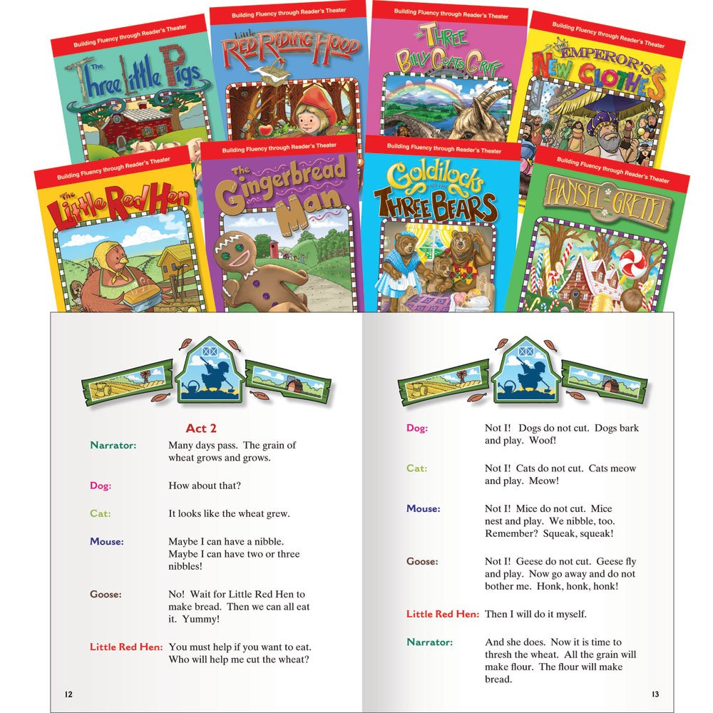 Reader's Theater:  Folk & Fairy Tales English Set (Classroom Library Collections)