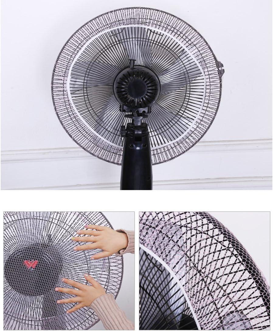 Funda Protectora de Malla para Ventilador Azul Accesorio para el hogar cuiyoush protecci/ón contra el Polvo Nailon