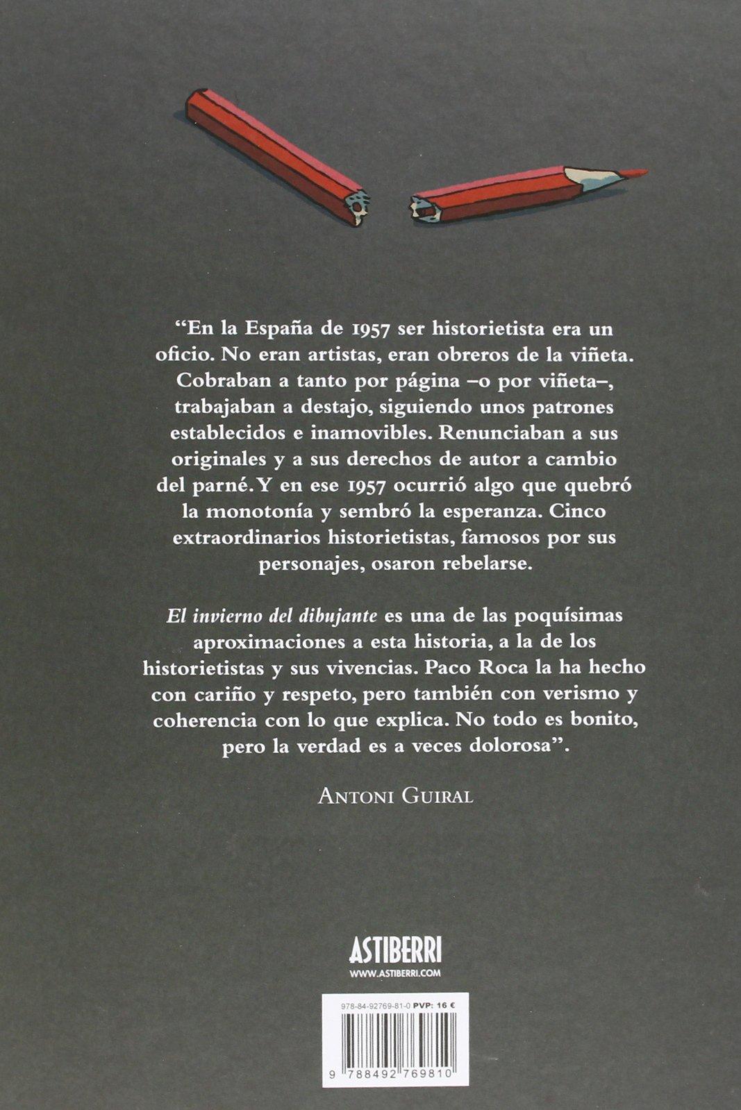 El invierno del dibujante: Paco Roca: 9788492769810: Amazon ...