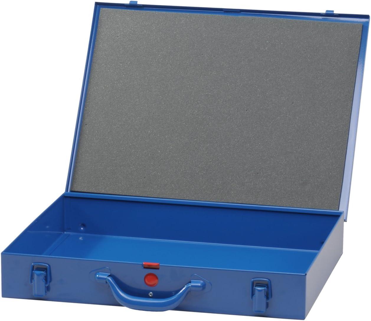 23 cajas insertables 330x440x66 mm azul oscuro H/ünersdorff Malet/ín para piezas peque/ñas de metal