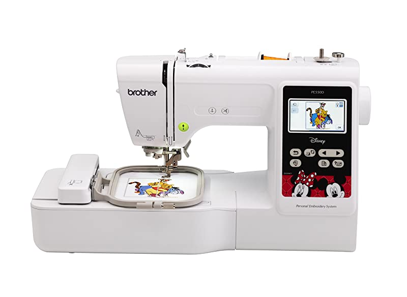 Best Home Embroidery Machine For Beginners: Brother PE550D
