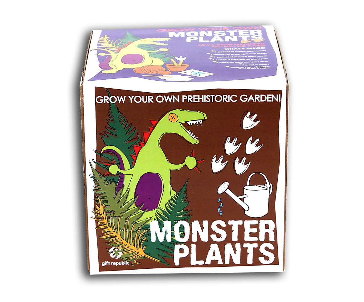 Gift Republic Sow And Grow Monsterpflanzen-Pflanzset GR120003