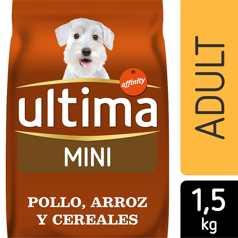 Ultima Pienso para Perros Mini Adultos con Pollo y Arroz: Amazon.es: Alimentación y bebidas