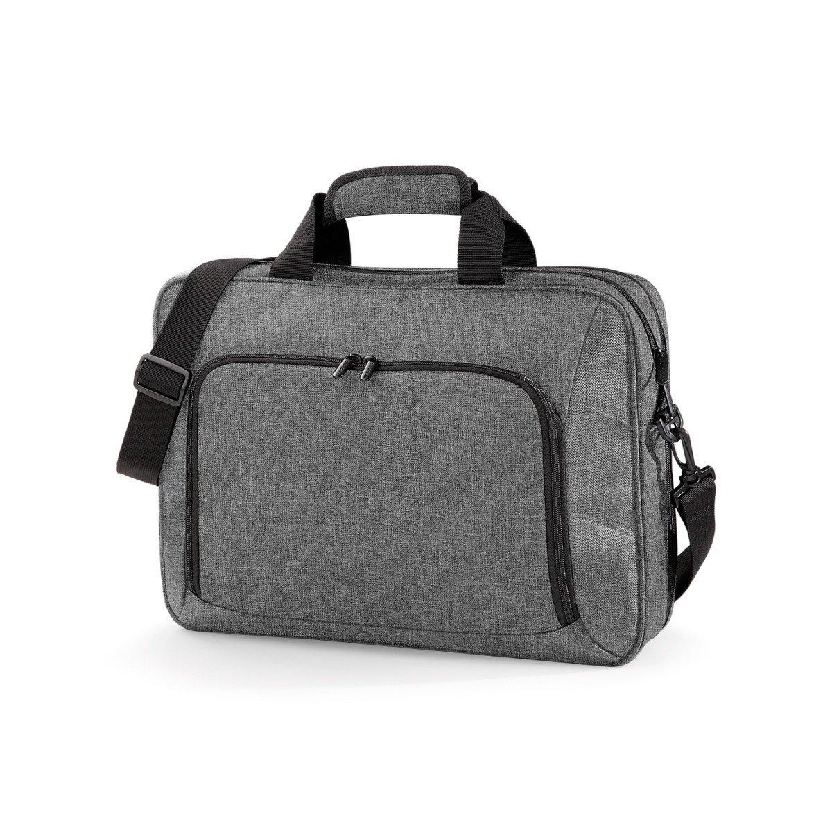 (クオドラ) Quadra エグゼキュティヴ オフィスビジネスバッグ (17インチノートパソコン対応) One Size グレーマール B07C12VJ32