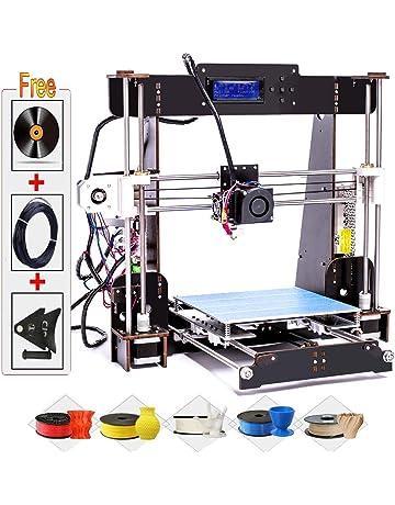 Impresoras 3D, Abcs Printing A8 Impresora 3D Pantalla LCD Impresora DIY Alta precisión autoensamblaje admite