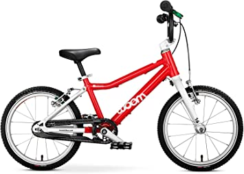 Bicicleta WOOM 3, color WOOM RED, tamaño 16