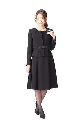 ad23df43e0086 マーガレット)marguerite スーツ レディース ブラックフォーマル 喪服 アンサンブル 礼服 m433