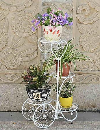Eisen Blumenregal Mehrschicht-Blumenregal Balkon Wohnzimmer Indoor ...