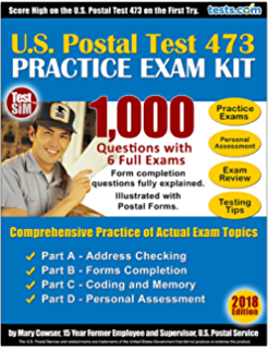 Amazon post office jobs the ultimate 473 postal exam study us postal exam 473 practice test kit 2018 edition 1000 questions with fully explained fandeluxe Choice Image