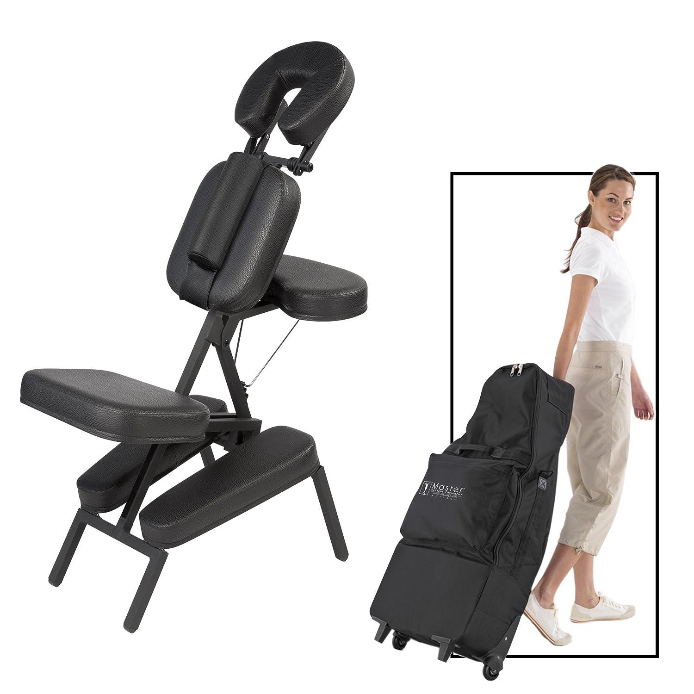 Master Massage Apollo XXL Portable Massage Chair Package Black