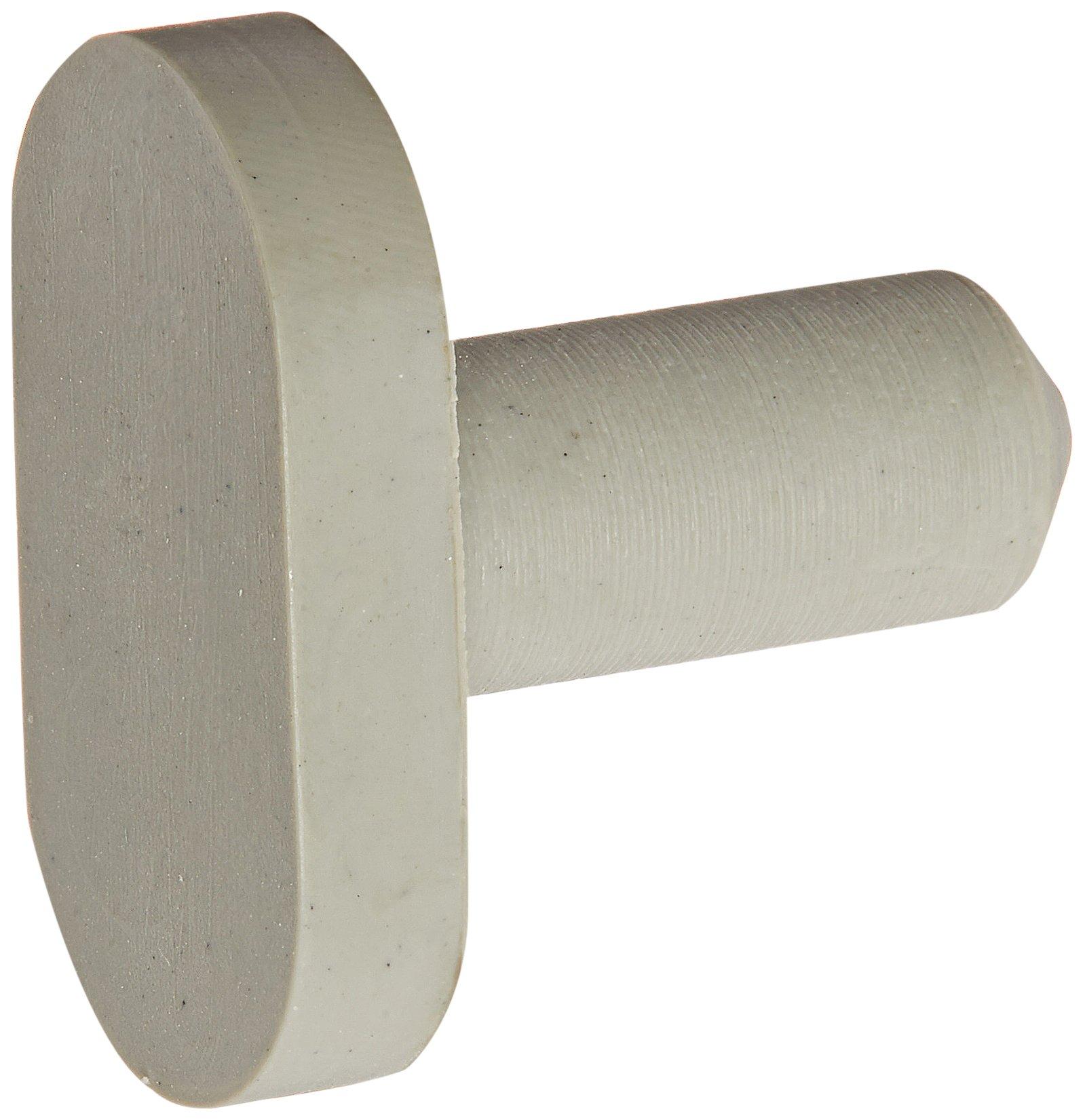 Ives Commercial SR65BG Door Silencer for Wood Frame, Rubber, 100 per Bag
