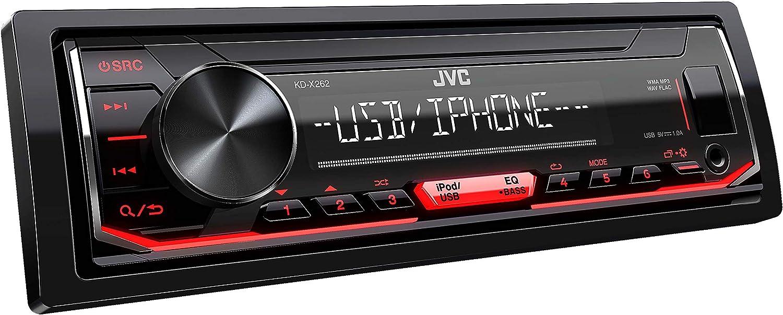 JVC KD-X262 - Autoradio USB con RDS (sintonizzatore ad alte