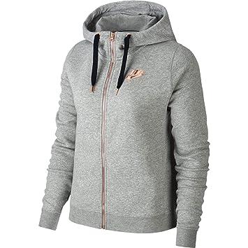 7f7066a6fcbd2 Nike NSW Rally Hoodie FZ W Air Sweat, Femme  Amazon.fr  Vêtements et ...