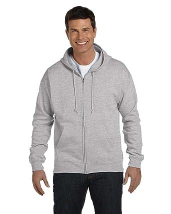 9d366c5c Image Unavailable. Image not available for. Color: Hanes Men's Full-Zip  EcoSmart Fleece Hoodie ...