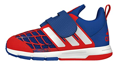 074f25e2acd83d adidas Marvel Spider-Man CF I Trainers -Disney for Unisex Babies