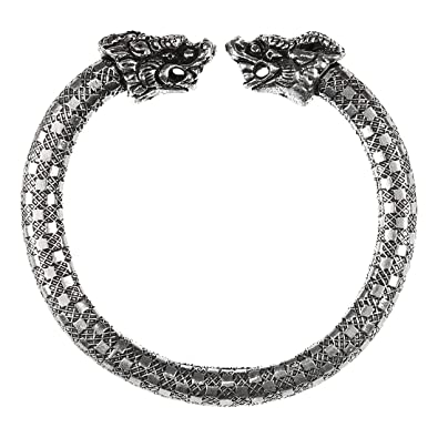 2ad84b8c851 The Ethnic & Tribal Designer Oxidized Silver Handmade Antique Exclusive  Collection of Adjustable Bracelet for Women & Girls by The Indian  Handicraft Store ...