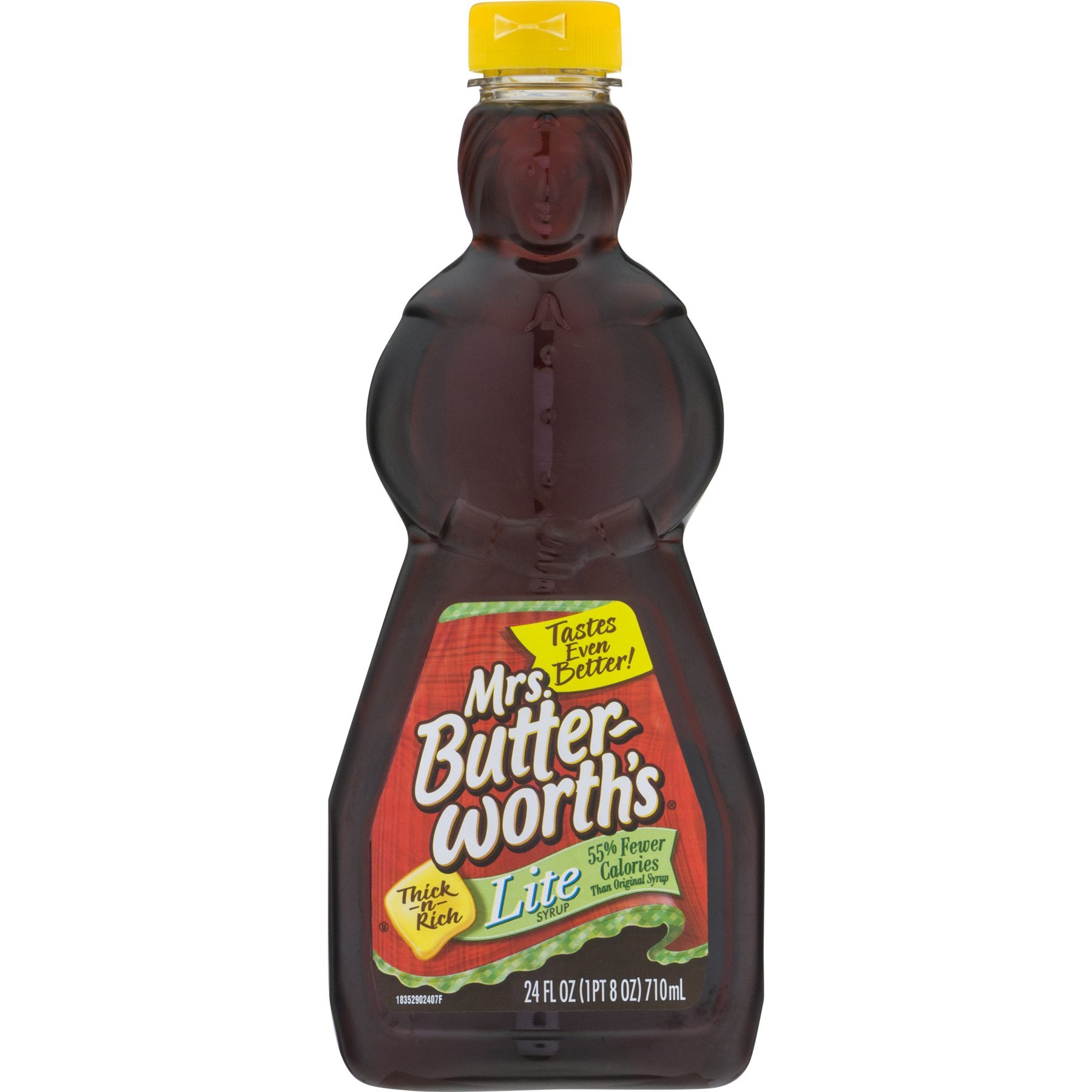 Mrs. Butterworth's Syrup, Lite, 24 Ounce (Pack of 12)