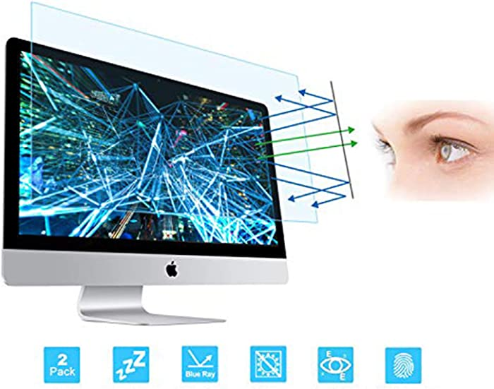 """FORITO Eye Protection Screen Protector Compatible with Apple iMac 21.5 Inch, Blue Light Blocking Screen Protector Compatible for Apple iMac 21.5"""""""
