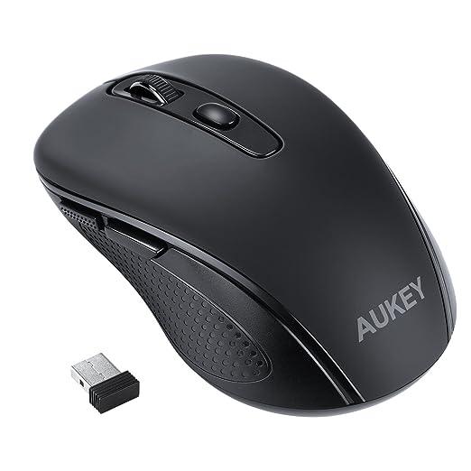 22 opinioni per AUKEY Mouse Wireless 2.4G con 6 Pulsanti 3 DPI Regolabili ( 800 / 1200 / 1600 )