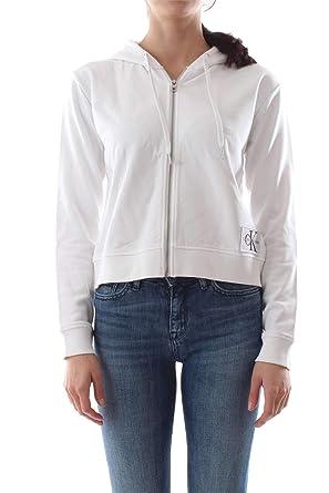Calvin Klein Jeans J20J209559 Boxy Monogram Sudadera Mujer: Amazon.es: Ropa y accesorios