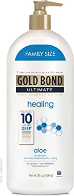 Gold Bond Ultimate Healing Skin Therapy Lotion with Aloe, Family Size,
