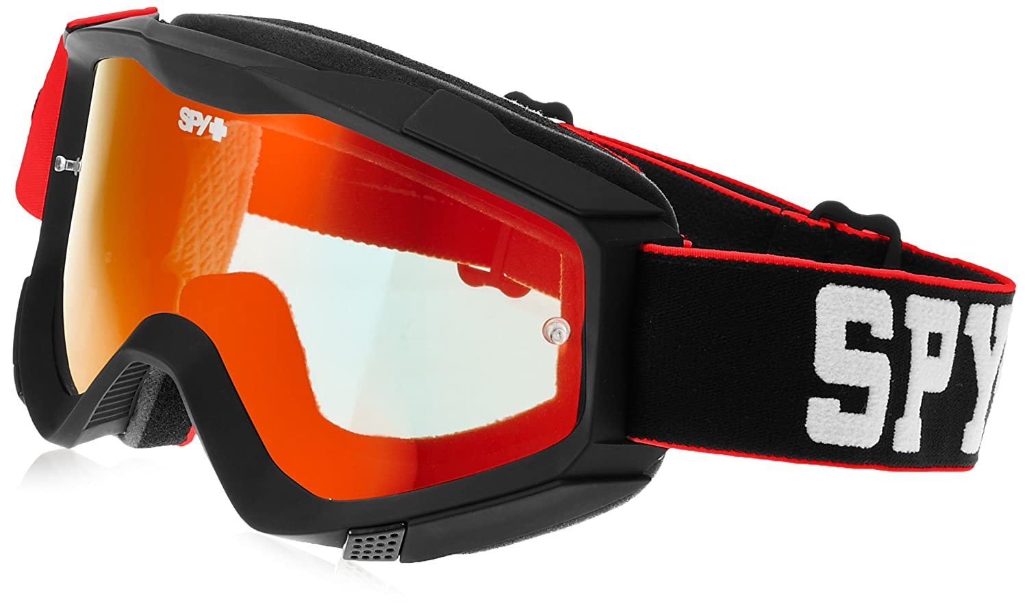 SPY OPTIC Mountainbike & Motocross KLUTCH Jersey ROT Downhill Goggle MX Brille
