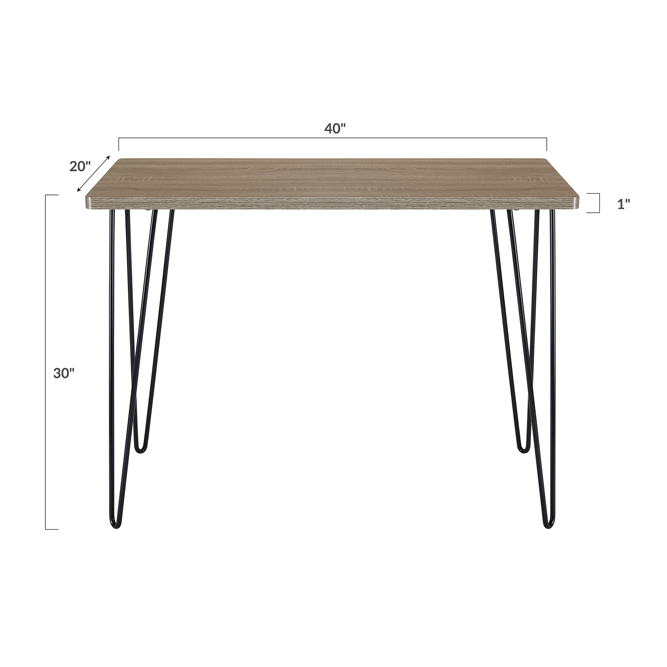 Poly and Bark Ralston Writing Desk - Standard Height - in Walnut